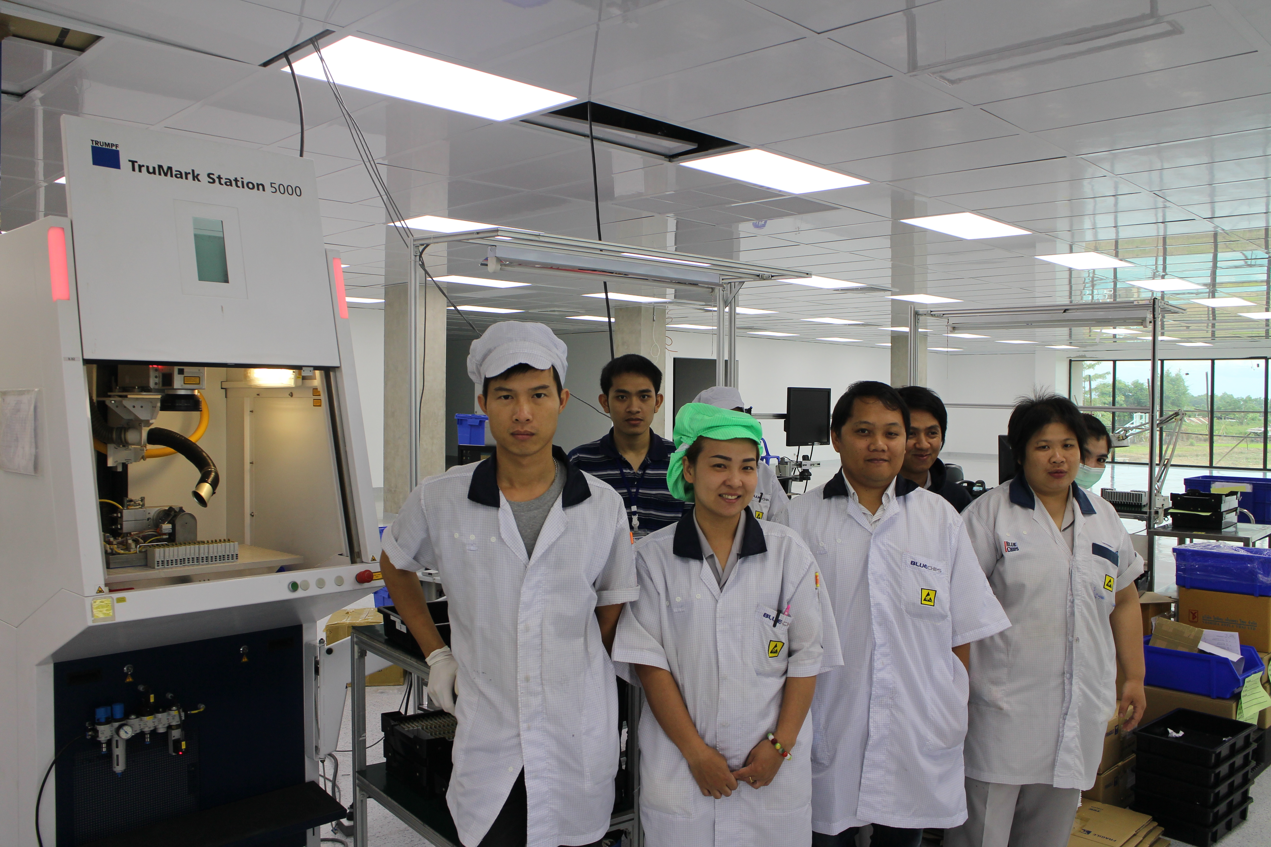 PCB production in the new factory can start