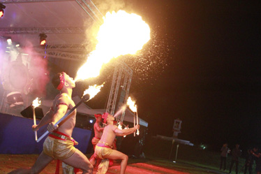 Traditional Thai Fire show