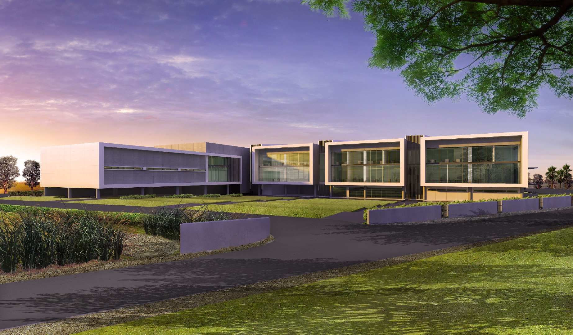The new building for Contract Manufacturing Services